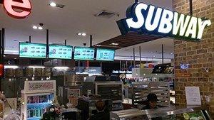 어드밴텍 e메뉴 솔루션, Subway 태국 전체 매장에 적용