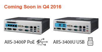 Advantech AIIS-3400P and AIIS-3400U