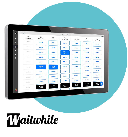 UTC-515 with waitlist software