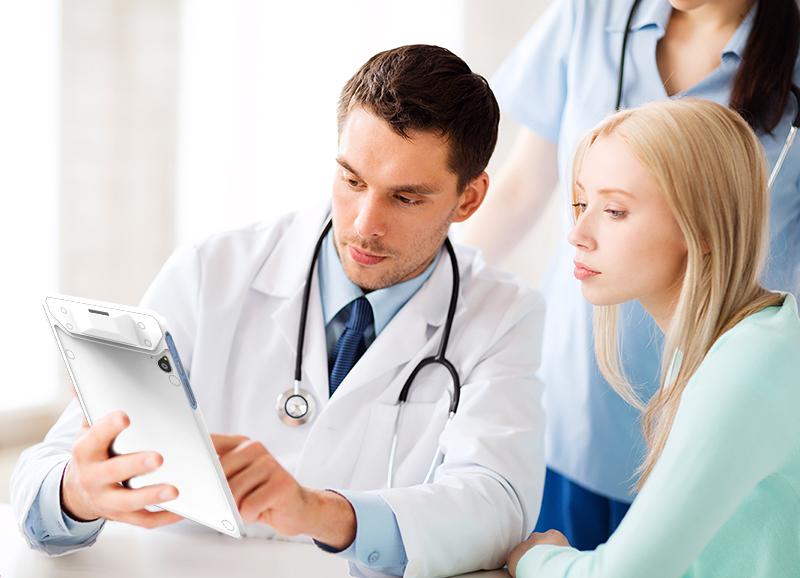 Medical tablet evaluation unit