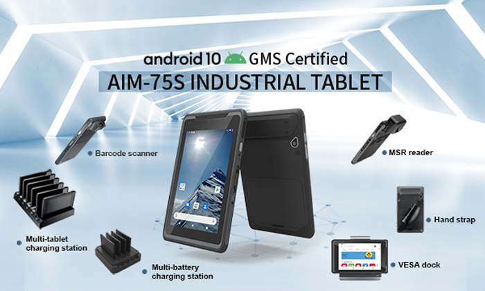 AIM-75S 8 Inch Industrial Tablet
