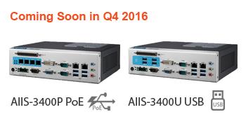 Advantech AIIS-3400P and AIIS-3400U