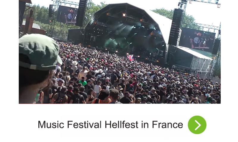 Music Festival Hellfest in France